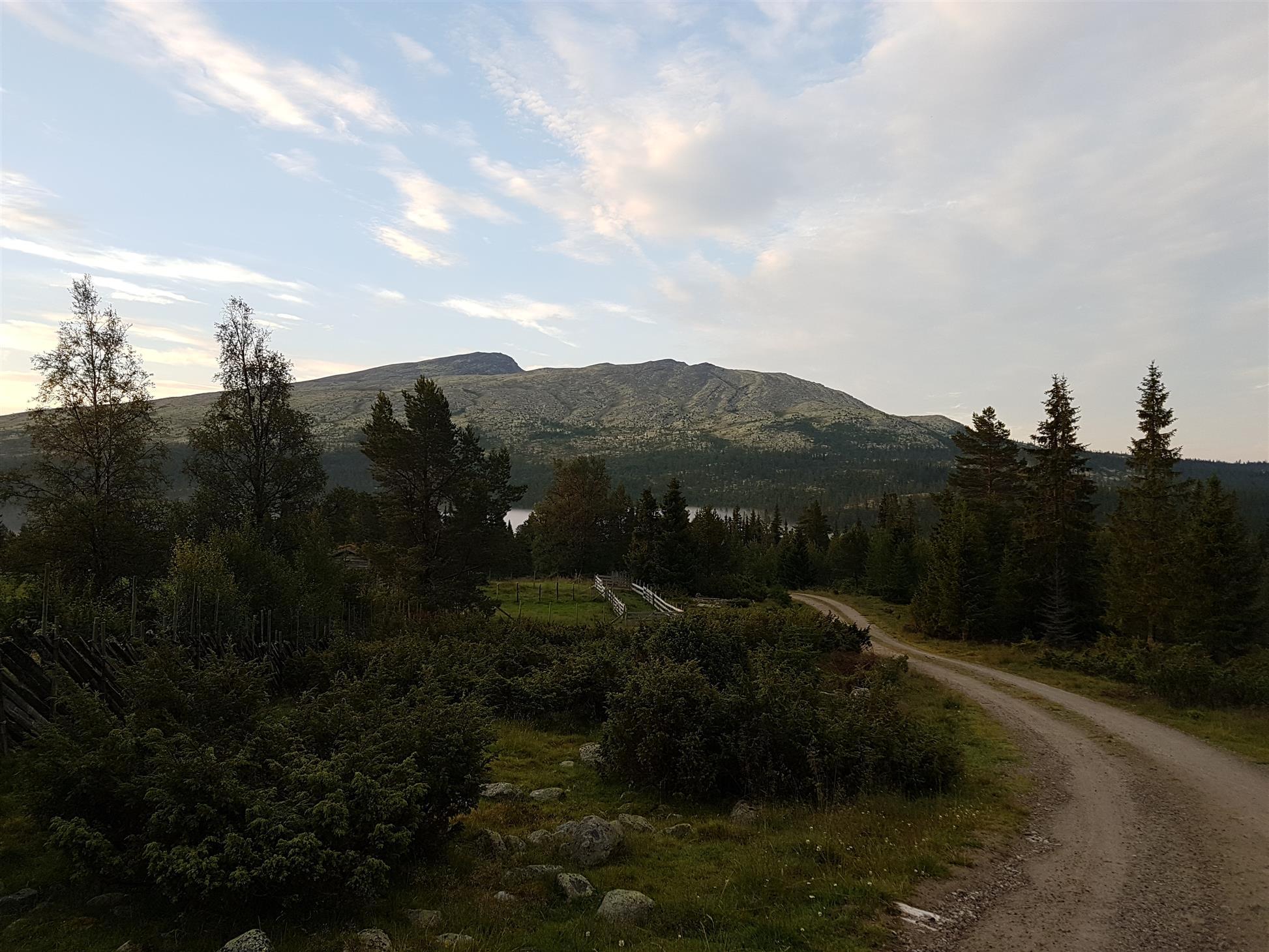 Turen tok oss med til flotte steder og Rendalen viste seg fra en sin beste side
