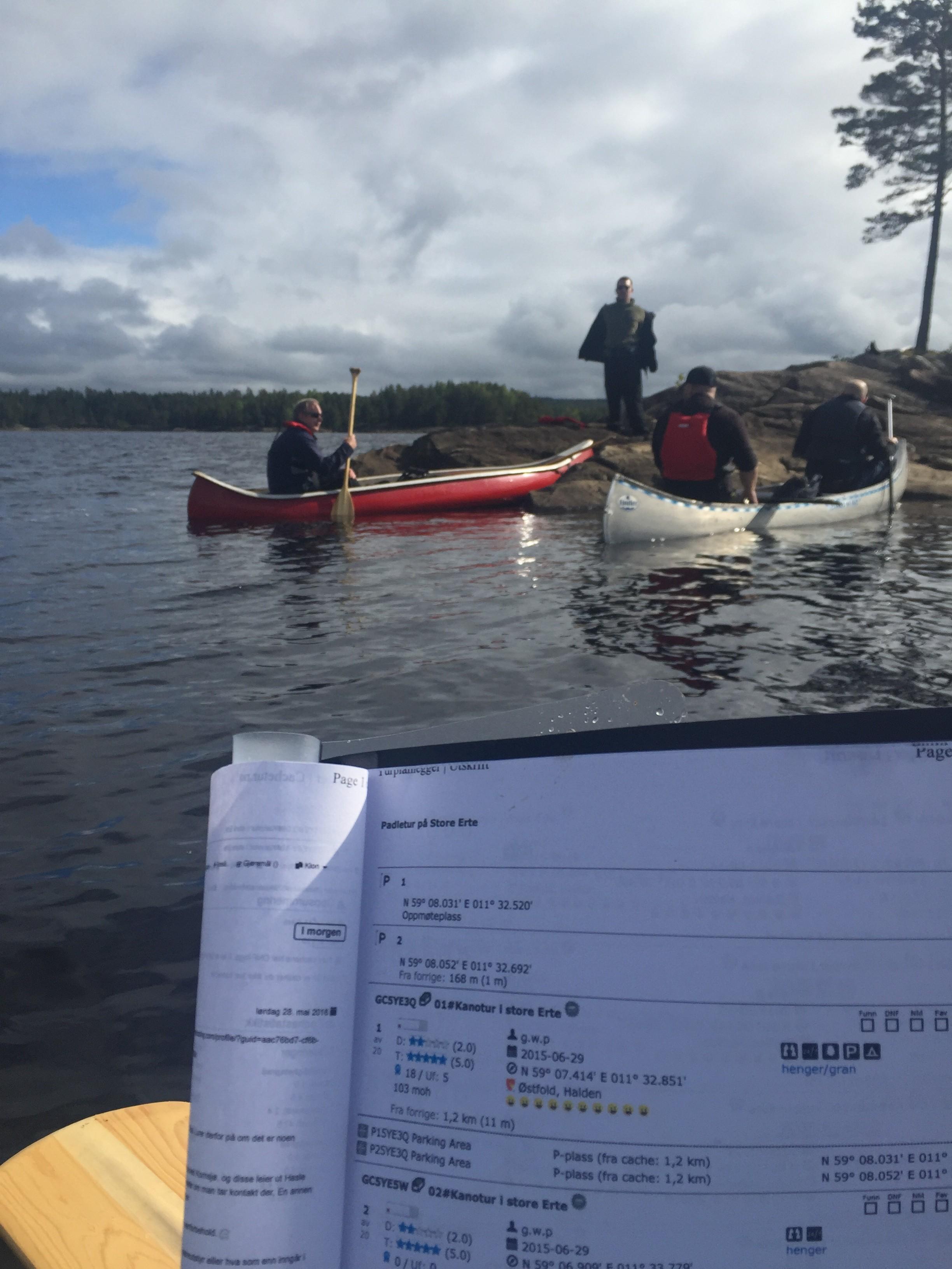 """""""Herlig gjeng på kanotur!!!"""" av TinkaB"""